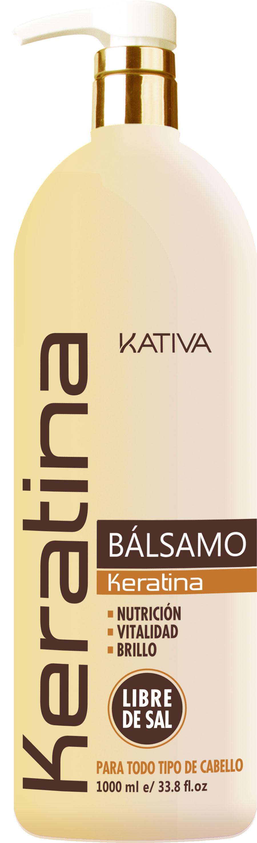 Kativa b lsamo keratina libre de sal y sin sulfatos - Bano de keratina precio ...