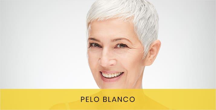 Tintura pelo color blanco