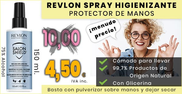 revlon - salon shield spray higienizante