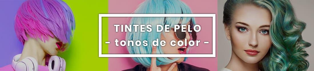 tintes de pelo según el número de coloración