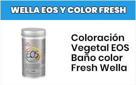 Tinte Vegetal Wella Eos y Color Fresh