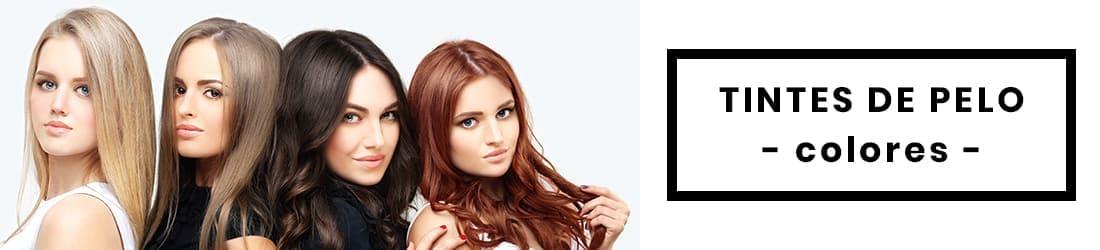 tintes de pelo, gama de colores