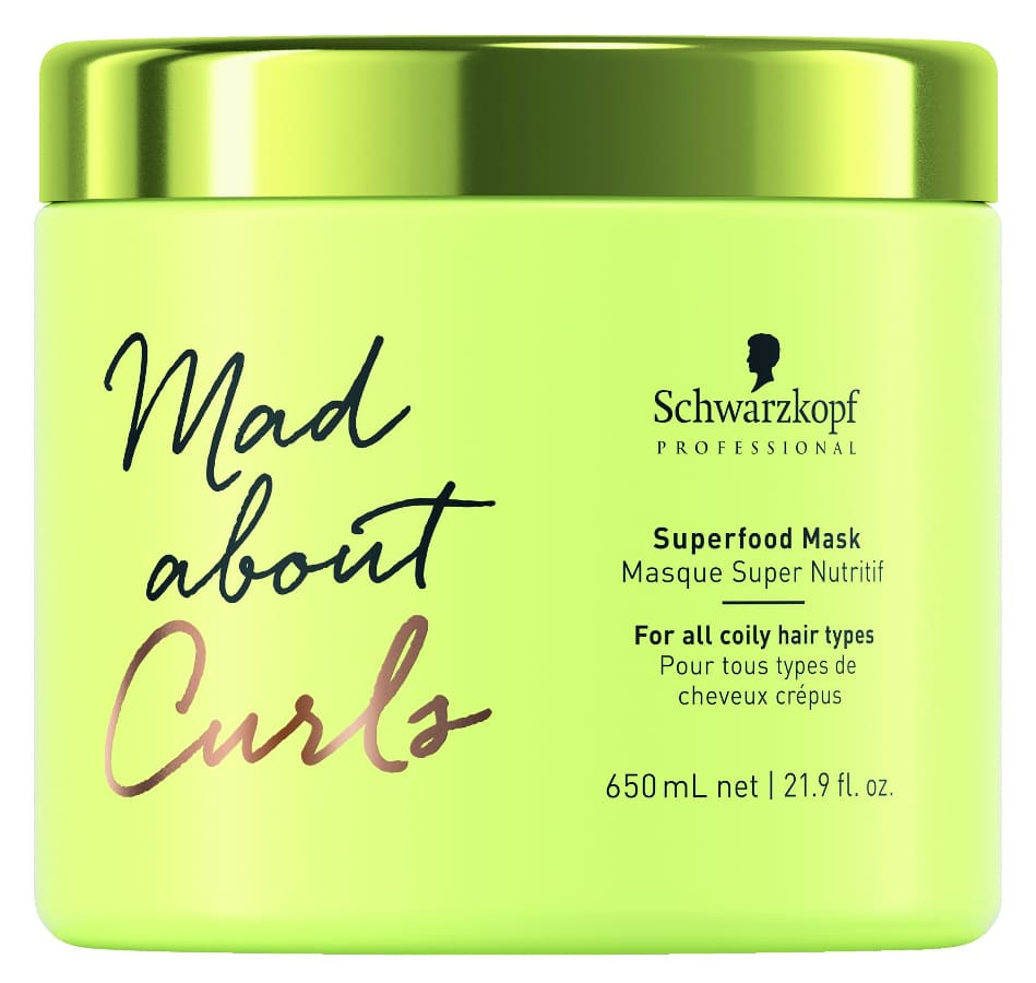 Schwarzkopf - Mascarilla Rizos SUPERFOOD MAD ABOUT CURLS 650 ml