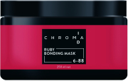 Schwarzkopf - Mascarilla Chroma ID Bonding de Color En Casa 6-88 RUBY 250 ml