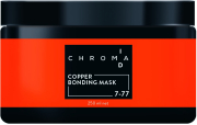 Schwarzkopf - Mascarilla Chroma ID Bonding de Color En Casa 7-77 COPPER 250 ml
