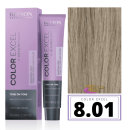 Revlon - Baño COLOR EXCEL Sin Amoniaco 8.01 Rubio Claro Natural Ceniza 70 ml