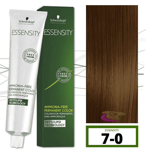 Schwarzkopf - Tinte ESSENSITY Sin Amoniaco Nature 7-0 Rubio Medio Natural 60 ml