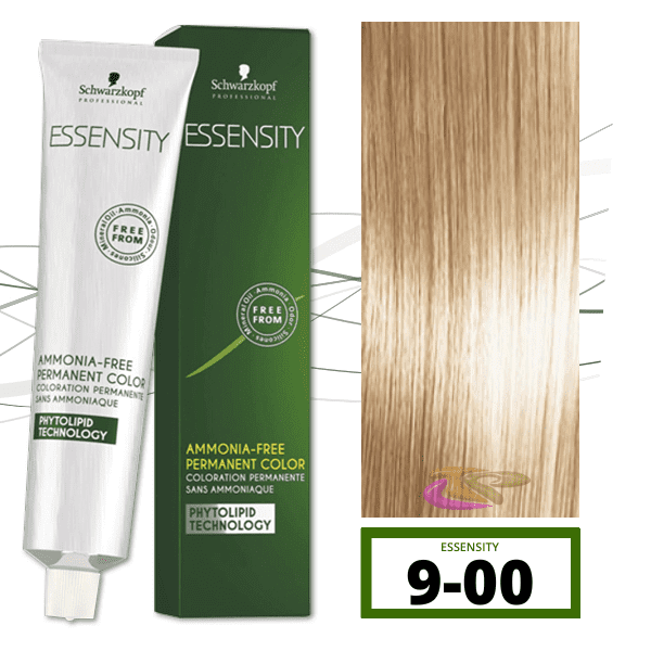 Schwarzkopf - Tinte ESSENSITY Sin Amoniaco Nature+ 9-00 Rubio Muy Claro Natural Intenso 60 ml