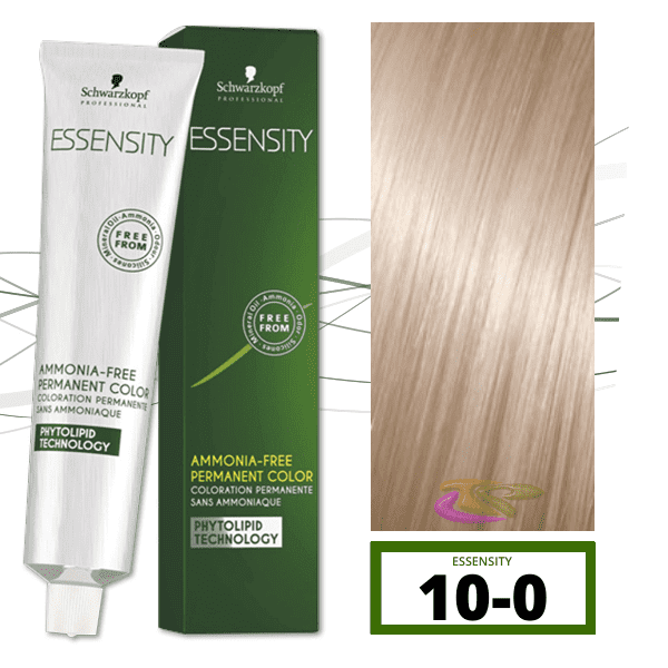 Schwarzkopf - Tinte ESSENSITY Sin Amoniaco Nature 10-0 Rubio Platino Natural 60 ml