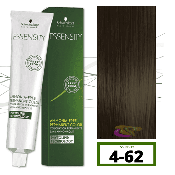 Schwarzkopf - Tinte ESSENSITY Sin Amoniaco Habana 4-62 Castaño Medio Marrón Humo 60 ml