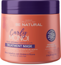 Be Natural - Mascarilla CURLY MONOI cabellos con ondas o rizos 350 ml
