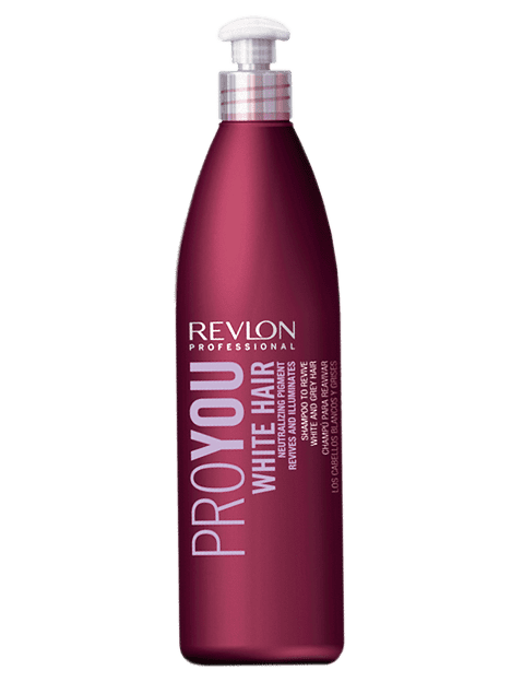Revlon Proyou - Champú WHITE HAIR 350 ml