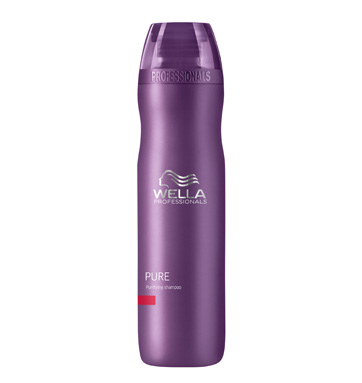 Wella Care Pure - Champú antigrasa PURE 250 ml