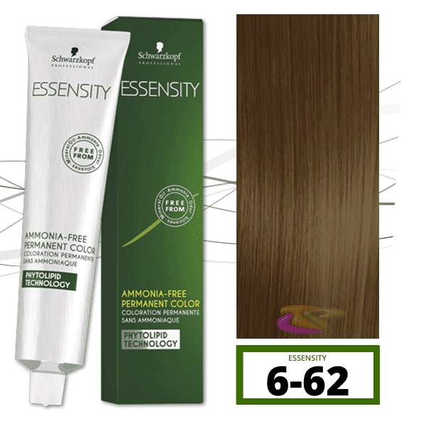 Schwarzkopf - Tinte ESSENSITY Sin Amoniaco Habana 6-62 Rubio Oscuro Marrón Humo 60 ml