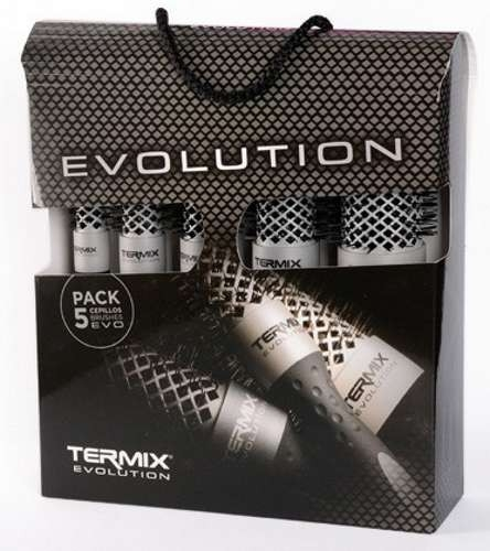 Termix - Pack 5 cepillos EVOLUTION BASIC