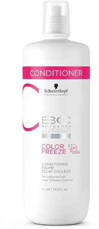 Schwarzkopf Bonacure - Acondicionador COLOR FREEZE 1000 ml