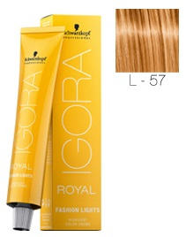 Schwarzkopf - Igora Fashion Lights L-57 DORADO COBRIZO 60 ml
