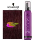 Schwarzkopf - Coloración mousse semipermanente 5-88 Castaño Medio Rojo Intenso 100 ml