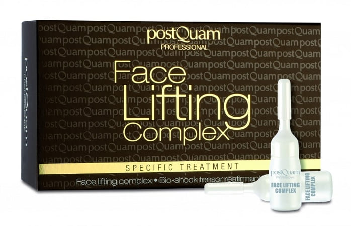 Postquam - Bio Shock Tensor Reafirmante Facial (12 ampollas x 3 ml)