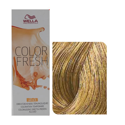 Wella - Baño de color COLOR FRESH 8/0 Rubio Claro 75 ml
