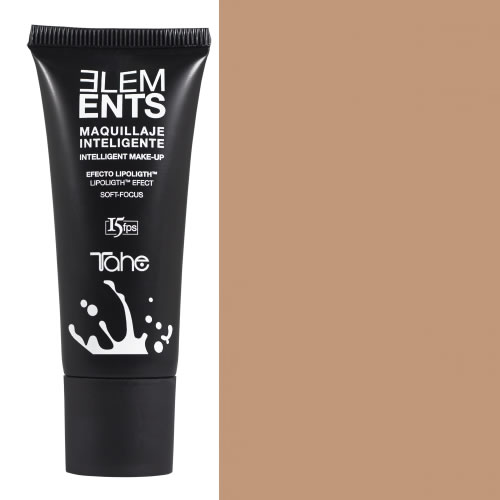 Tahe - Maquillaje inteligente fluido ELEMENTS COLOR E-34 fps.15 35 ml