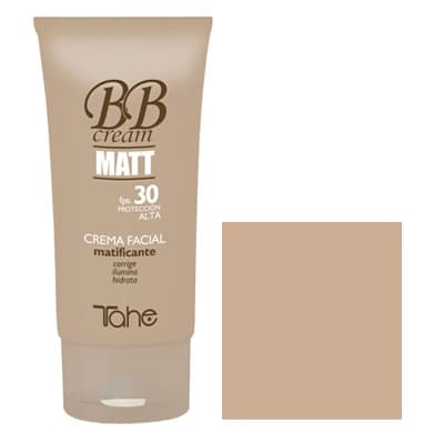 Tahe - Crema facial matificante BB CREAM MATT fps.30 tono nº20 50 ml