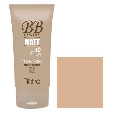 Tahe - Crema facial matificante BB CREAM MATT fps.30 tono nº30 50 ml