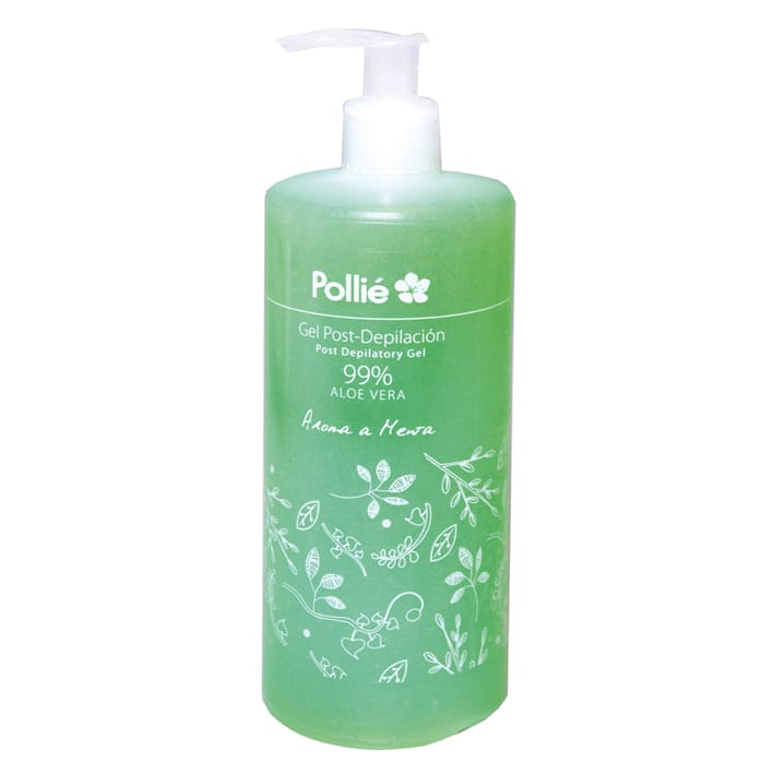 Pollié - Gel Post Depilación 99% Aloe Vera 500 ml (03613)