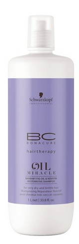 Schwarzkopf Bonacure - Champú Restaurador OIL MIRACLE BARBARY FIG 1000 ml