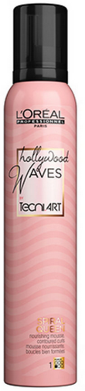 L`Oréal Tecni.Art - Mousse Ondas y Rizos Hollywood Waves SPIRAL QUEEN 200 ml