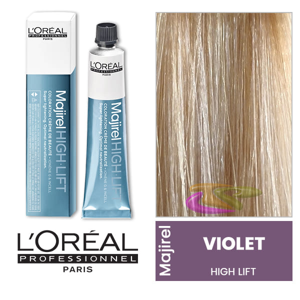 L`Oréal - Tinte Superaclarante MAJIREL HIGH LIFT VIOLET SUPERACLARANTE 50 ml