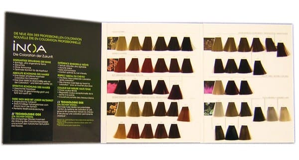 Carta De Color Inoa Loreal 21 50