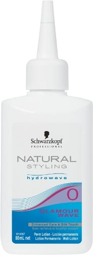 Schwarzkopf Profesional - Permanente Natural Styling GLAMOUR WAVE nº0 (cabellos resistentes) 80 ml