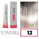 Tassel - Tinte BRIGHT COLOUR con Argán y Keratina Nº 12 SUPERACLARANTE RUBIO NATURAL 100 ml (04605)