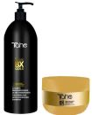 Tahe - Pack MAGIC BX GOLD XXL (Champú Redensificador 1000 ml + Mascarilla Redensifica...