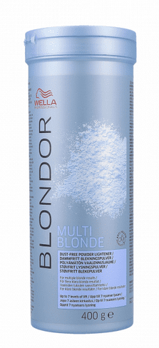 Wella Profesional - Decoloracion polvo Blondor Multi Power 400 gr
