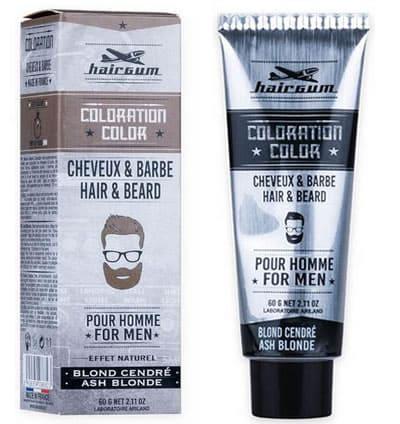 c90f83baa Hairgum - Tinte para Barba Nº 6.1 Rubio Ceniza 60 g (C863061)