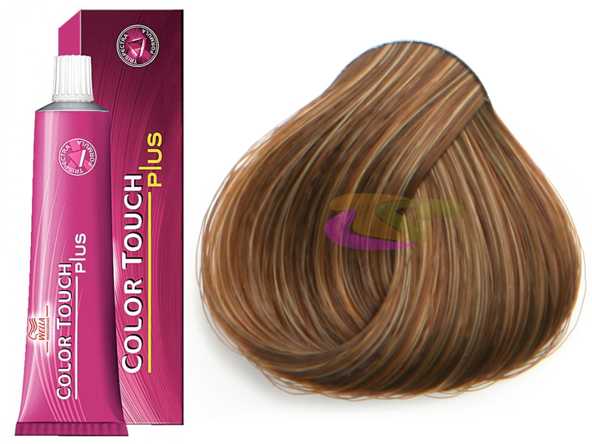 Ba o color touch plus 77 03 sin amoniaco de 60 ml wella 5 76 - Bano de color wella ...
