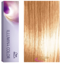 Wella - Tinte Illumina Color 8/38 Rubio Claro Dorado Perla 60 ml
