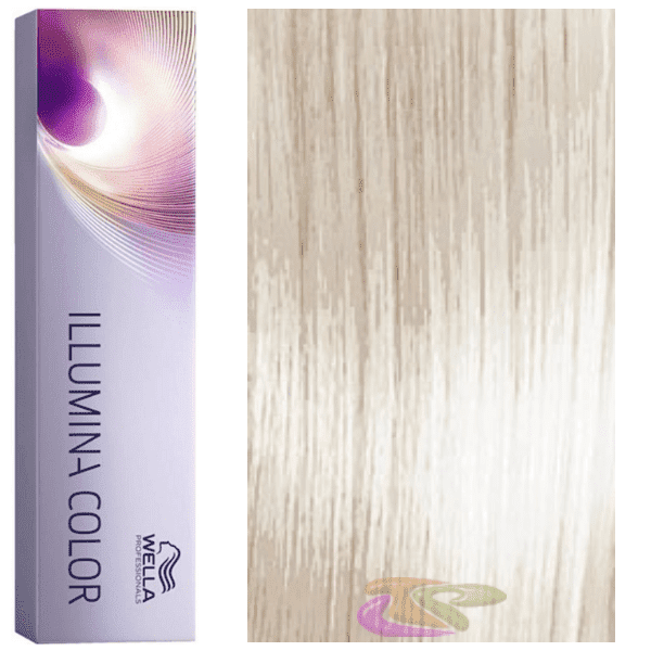 Wella - Tinte Illumina Color 10/69 Rubio Super Claro Violeta Cendré 60 ml