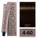 Schwarzkopf - Tinte Igora Royal Absolutes 4/60 Castaño Medio Marrón Natural 60 ml