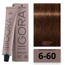 Schwarzkopf - Tinte Igora Royal Absolutes 6/60 Rubio Oscuro Marrón Natural 60 ml
