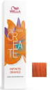 Wella - Baño de color COLOR FRESH CREATE Infinite Orange 60 ml
