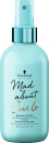 Schwarzkopf - Refijador MAD ABOUT CURLS Quencher Oil Milk 200 ml