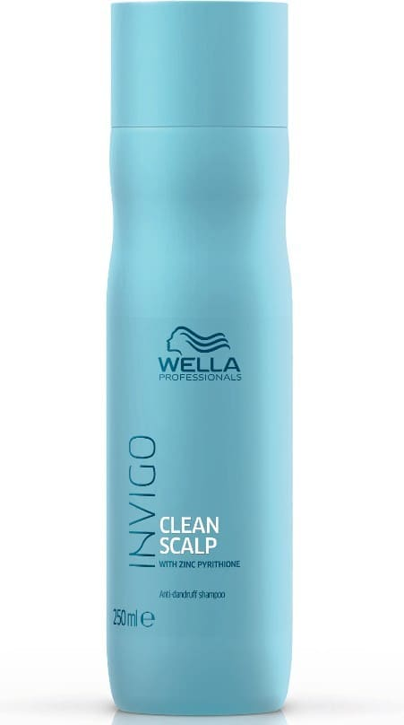 Wella Invigo - Champú CLEAN SCALP anticaspa 250 ml
