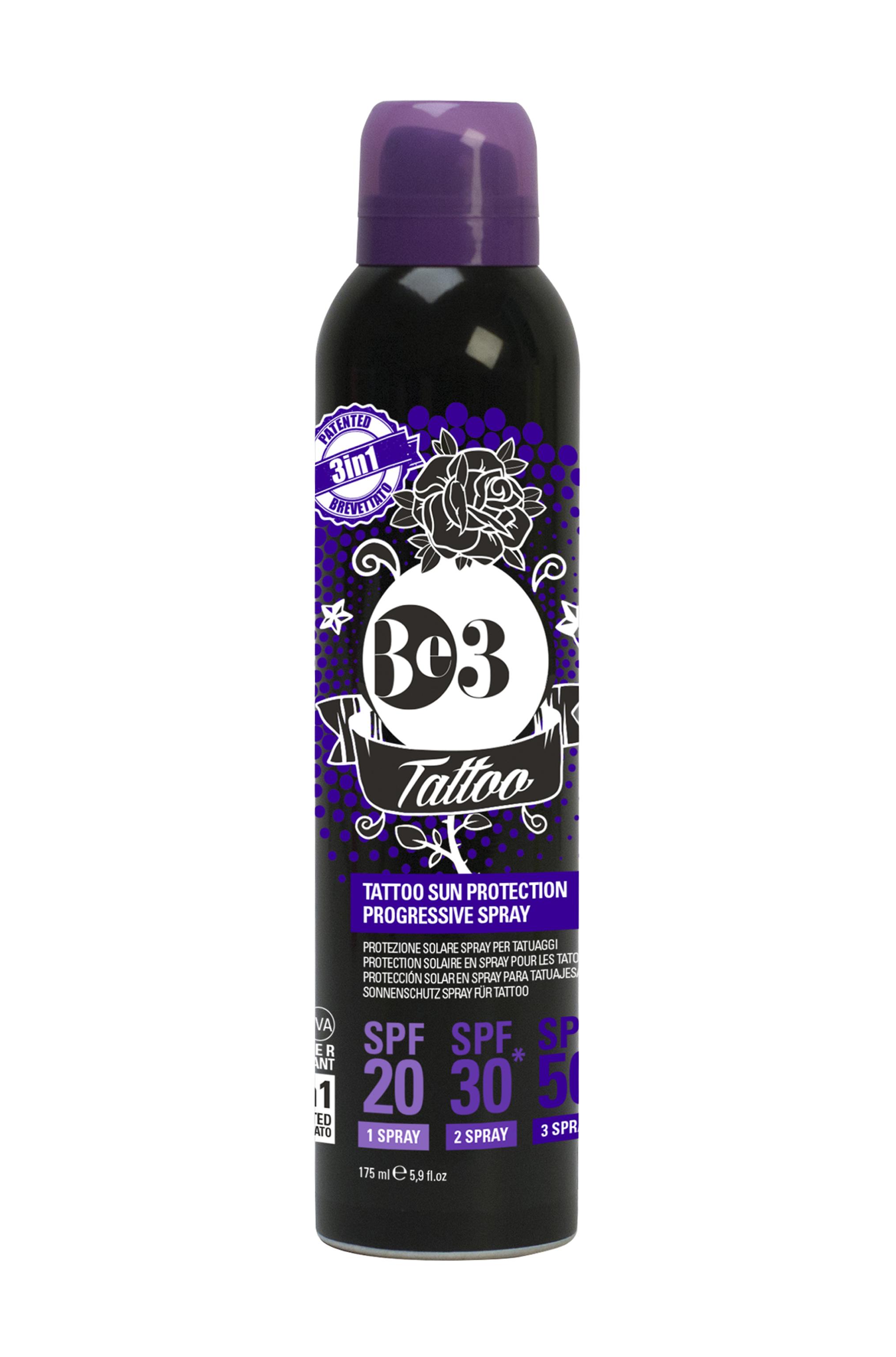 Spray Protector Solar Tattoo Fps 203050 175 Ml Be3 1800