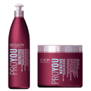Revlon Proyou  - PACK NUTRITIVO (Champú Nutritive 350 ml + Mascarilla Nutritive 500 ml)