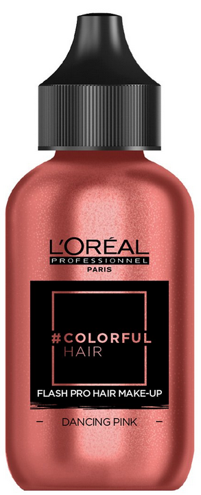 L`Oreal - Maquillaje capilar ColorfulHair Flash DANCING PINK 60 ml