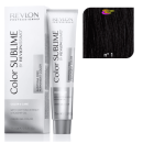 Revlon - Tinte Revlonissimo COLOR SUBLIME (sin amoniaco) 1 Negro 75 ml