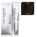 Revlon - Tinte Revlonissimo COLOR SUBLIME (sin amoniaco) 4 Castaño 75 ml